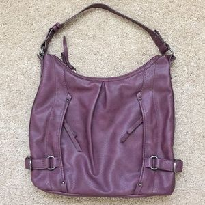 Clark's leather handbag- hobo style